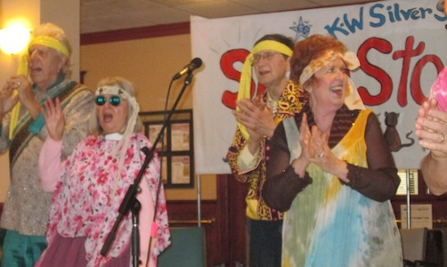 Showstoppers Hippy chorus